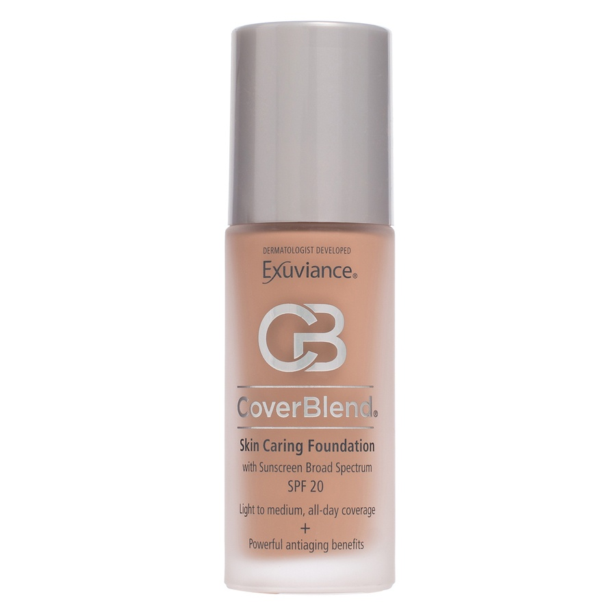 Exuviance CoverBlend Skin Caring Foundation SPF 20 Honey Sand 30 ml