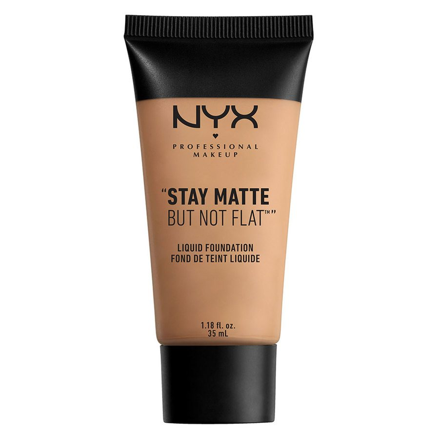 NYX Professional Makeup Stay Matte But Not Flat Liquid Foundation Tan 35 ml