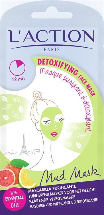 L'Action Paris Detoxifying Face Mask 18 g