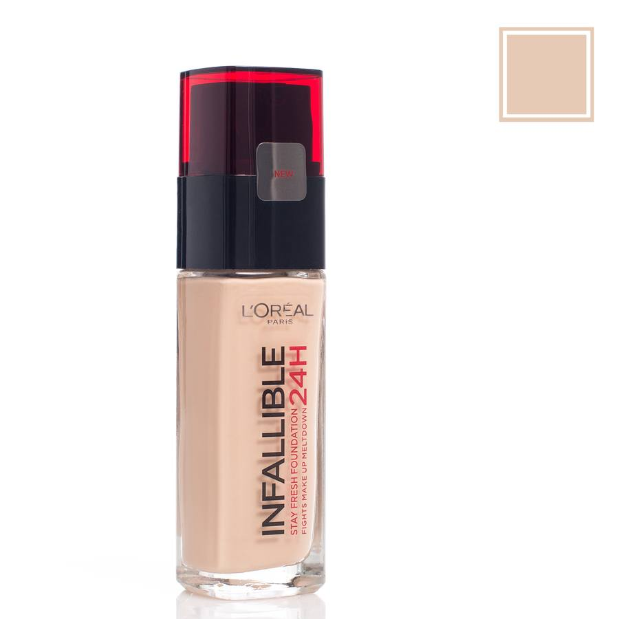 L'Oréal Paris Infallible 24 h Liquid Foundation 200 Golden Sand