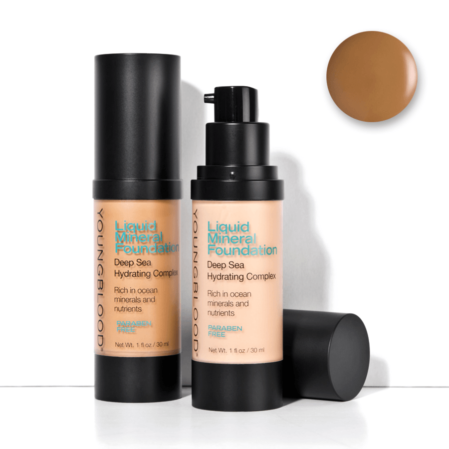 Youngblood Liquid Mineral Foundation Suntan 30 ml