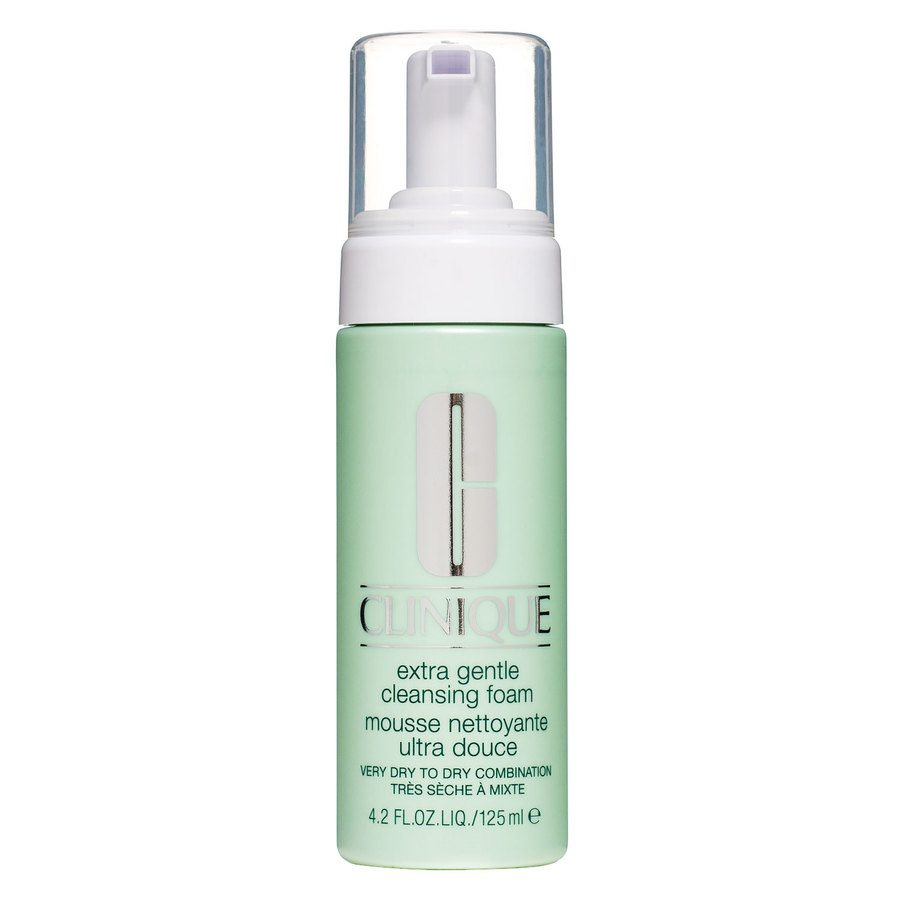 Clinique Extra Gentle Cleansing Foam Very Dry to Dry Combination Skin 125 ml