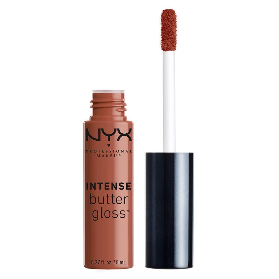 NYX Professional Makeup Intense Butter Gloss Chocolate Crepe 8 ml