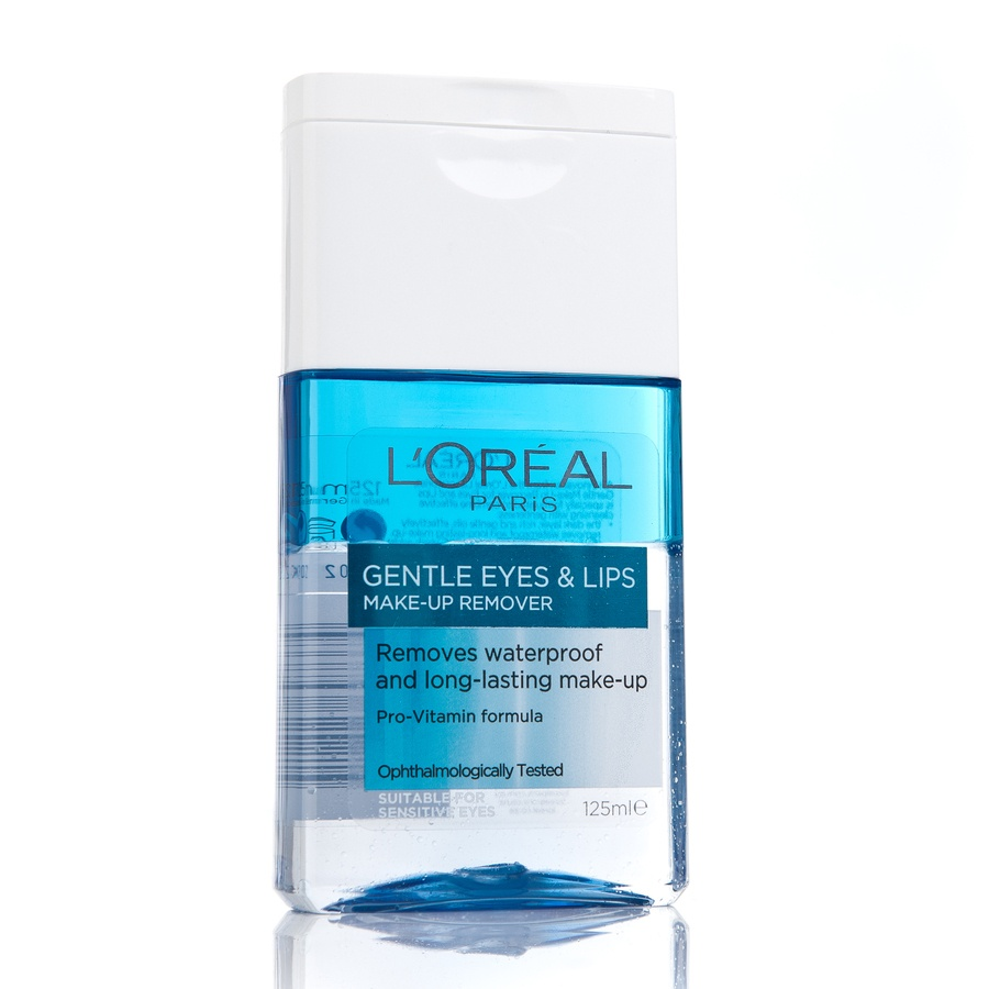 L'Oréal Paris Gentle Eyes & Lips Make-Up Remover 125 ml