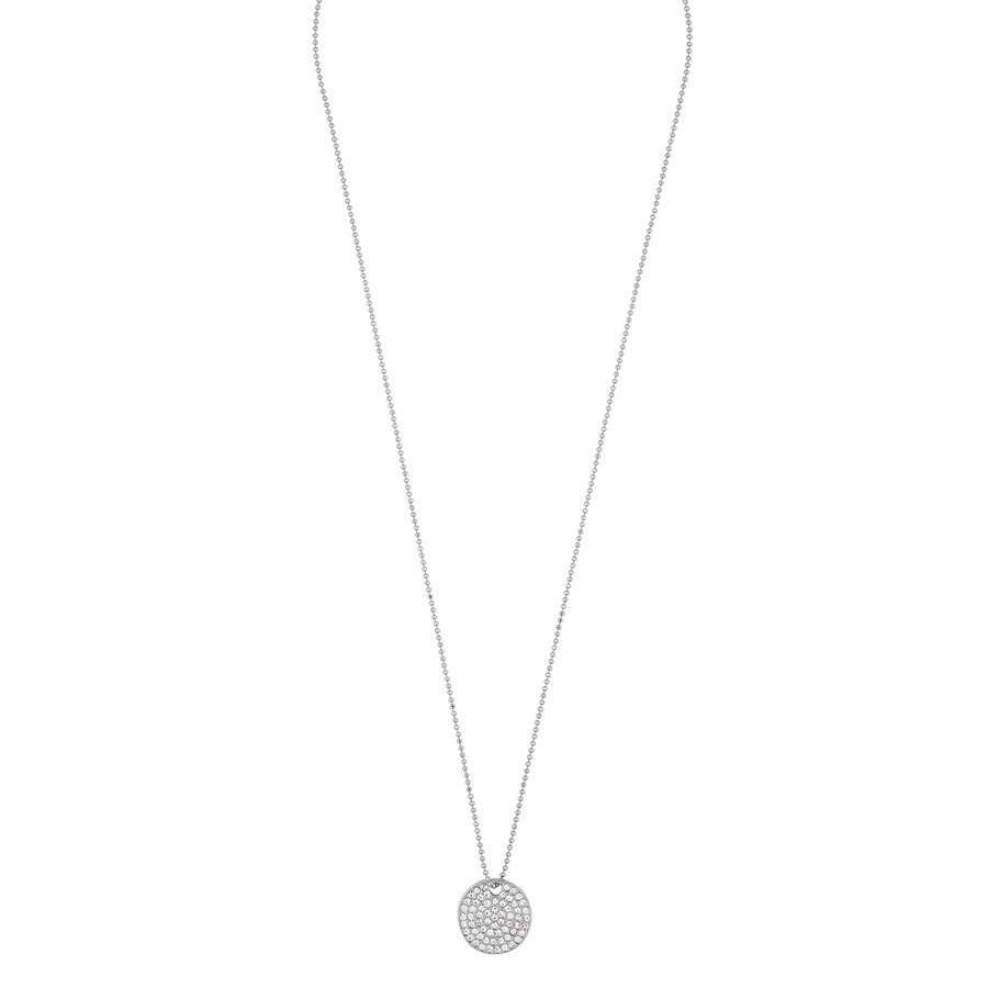 Snö of Sweden Corinne Pendant Necklace 42 cm Silver/Clear