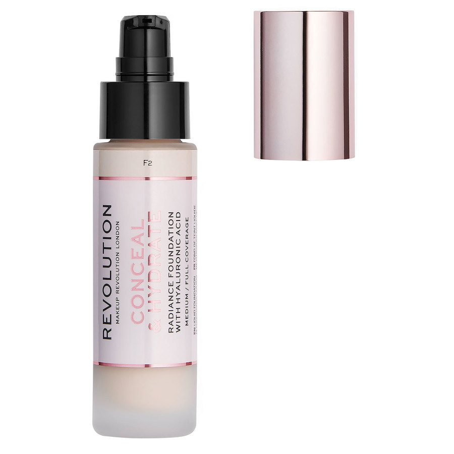 Makeup Revolution Conceal & Hydrate Foundation F2 23 ml