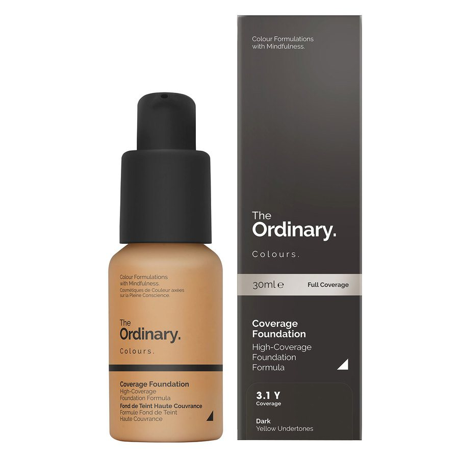 The Ordinary Coverage Foundation 3.1 Y dark Yellow