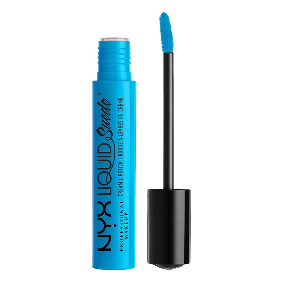 NYX Professional Makeup Liquid Suede Cream Lipstick Denim Dress