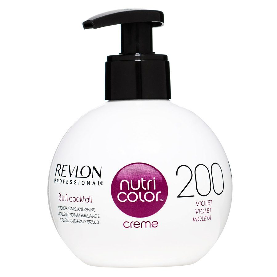 Revlon Professional Nutri Color Creme 250ml 200 Burgundy Violet