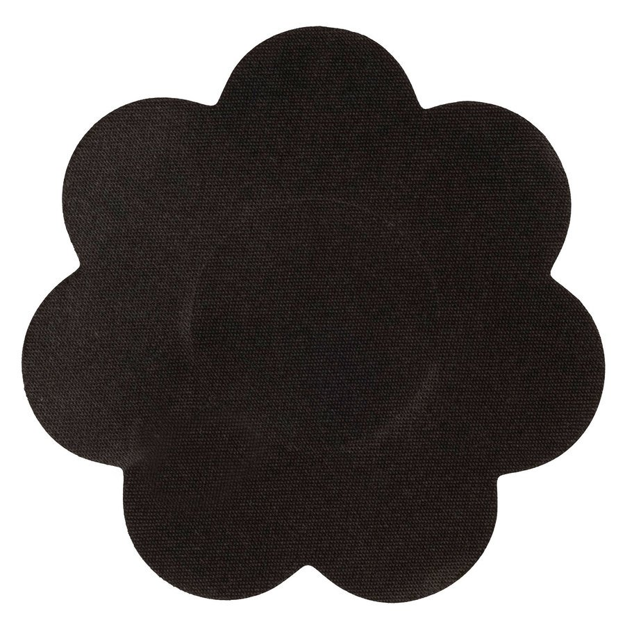 Brush Works Black Satin Nipple Covers