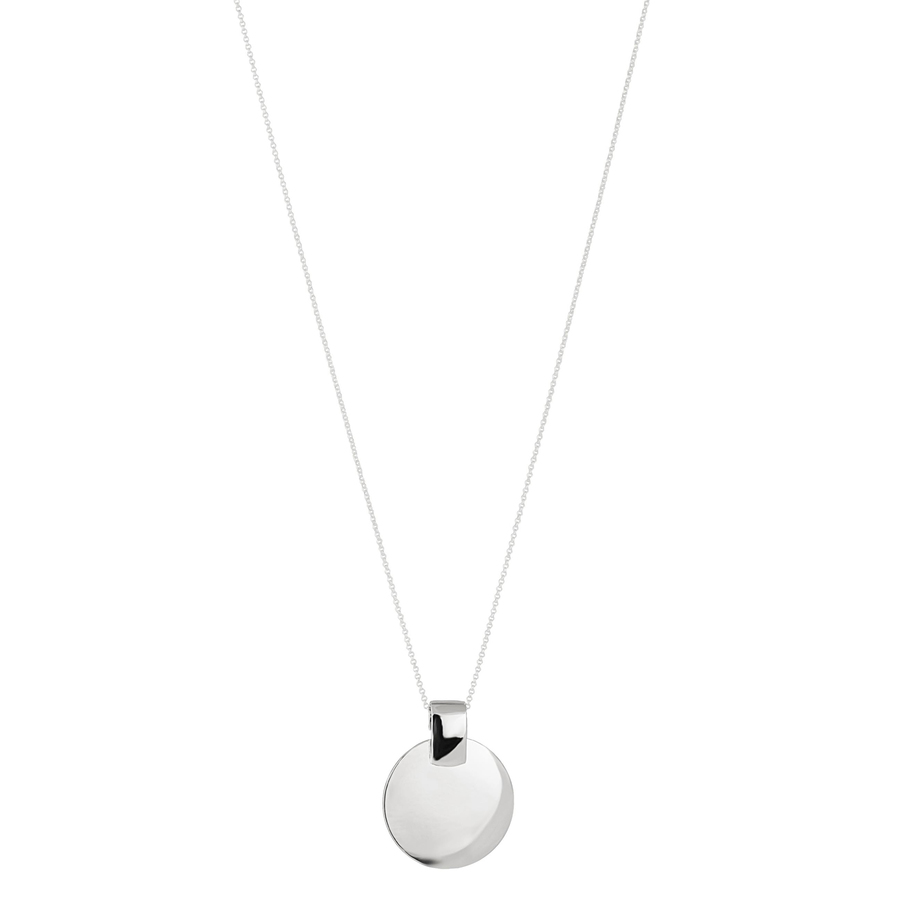 Snö of Sweden Carrie Pendant Neck Plain Silver 80 cm