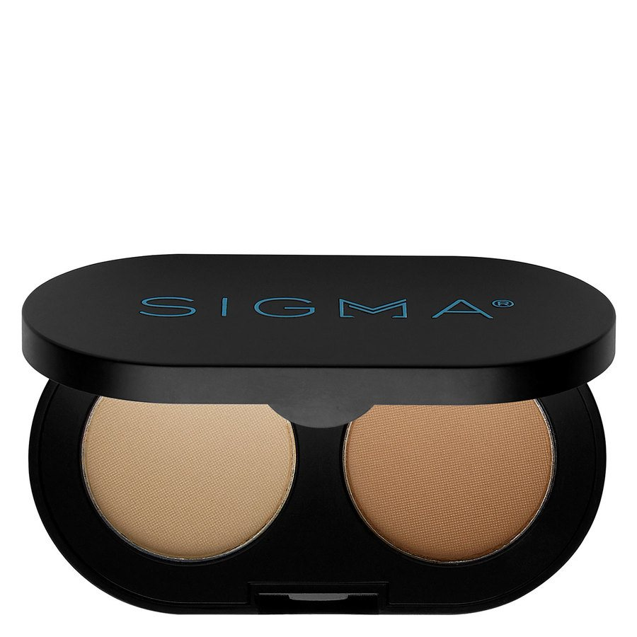 Sigma Color + Shape Brow Powder Duo Light 3 g