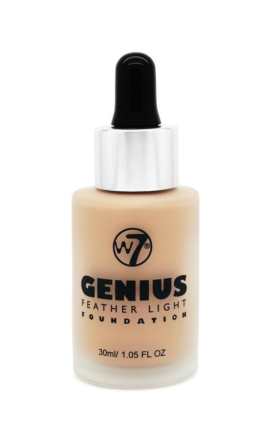 W7 Genius Feather Light Foundation Sand Beige