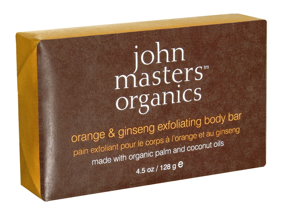 John Masters Organic Orange & Ginseng Exfoliating Body Bar 128 g