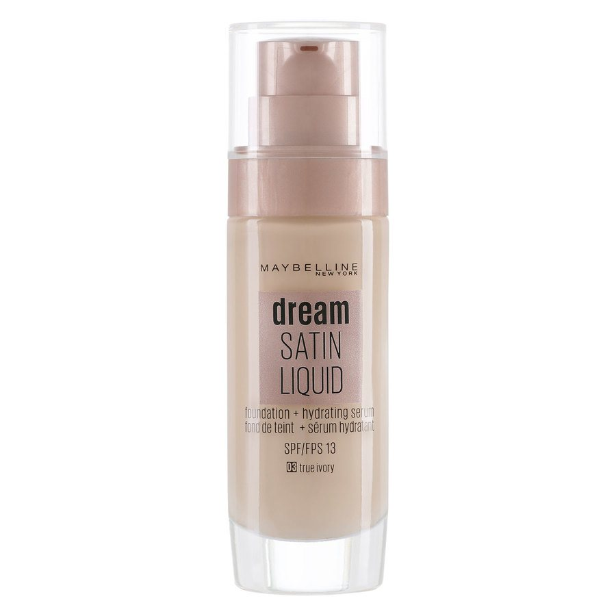 Maybelline Dream Satin Liquid Foundation True Ivory #3
