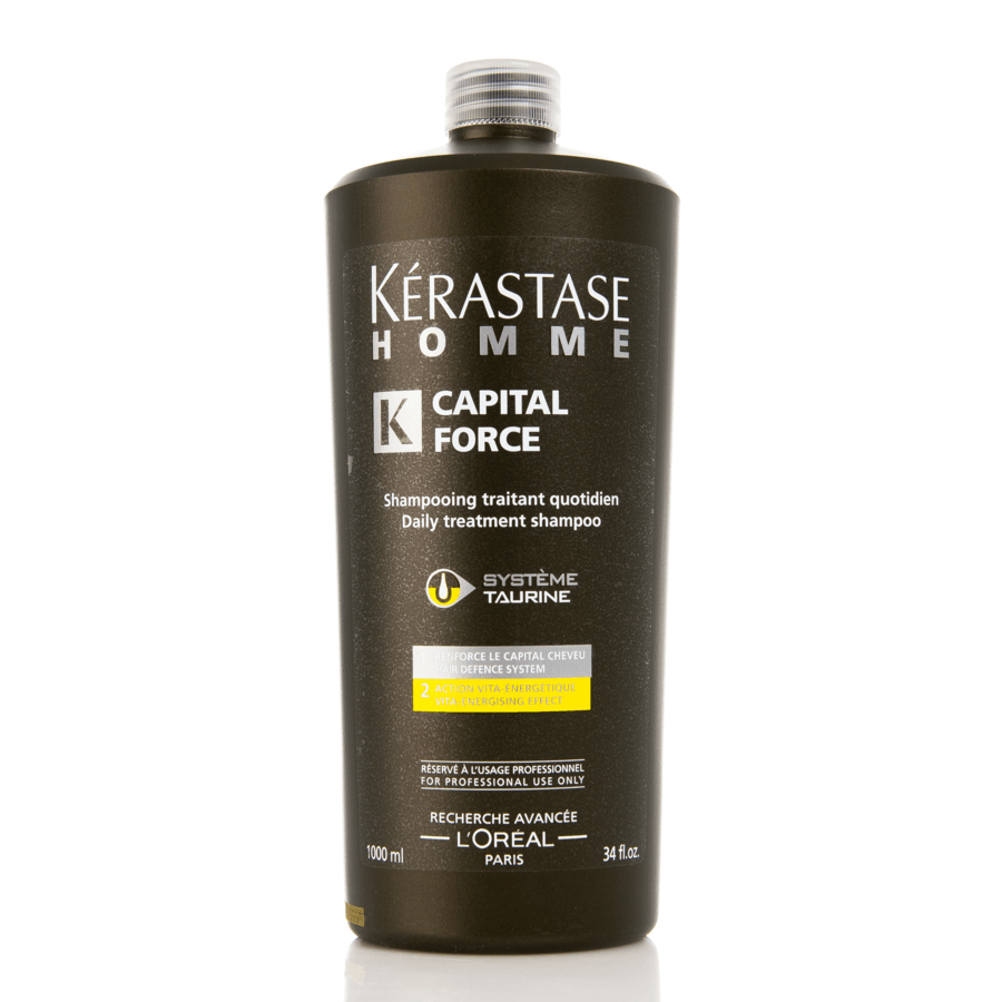 Kérastase Homme Capital Force Daily Treatment Energetique Shampoo 1000ml
