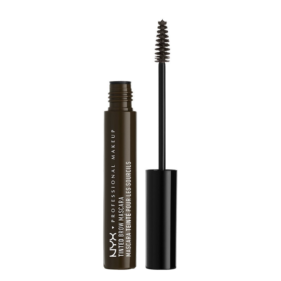 NYX Professional Makeup Tinted Brow Mascara Black TBM05