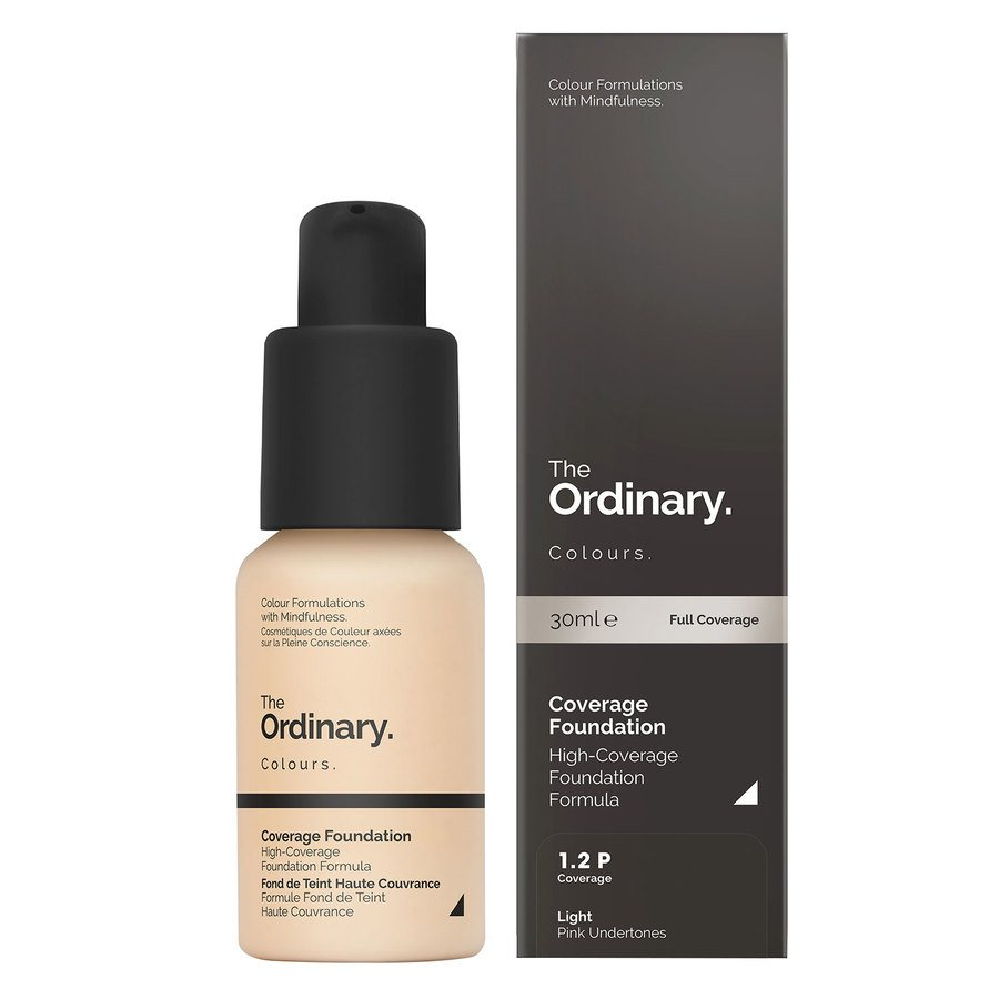 The Ordinary Coverage Foundation 1.2 P light Pink