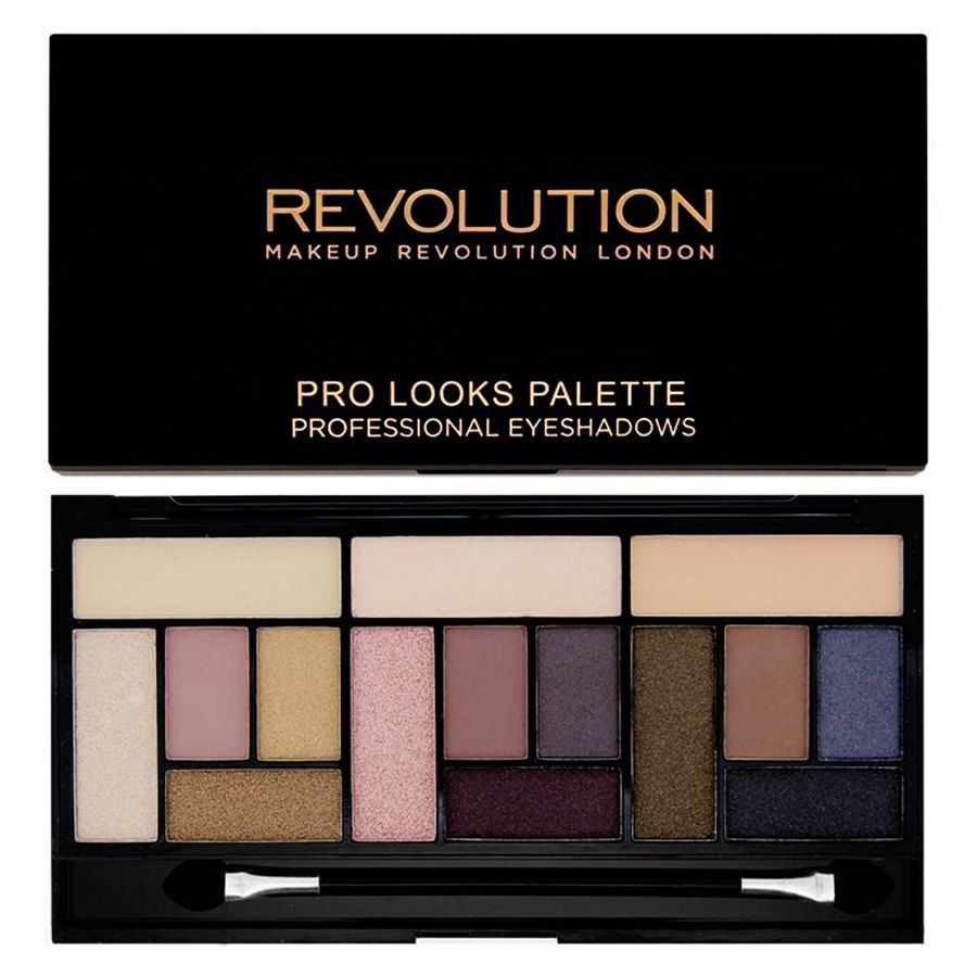 Makeup Revolution Pro Looks Palette Stripped & Bare 13 g
