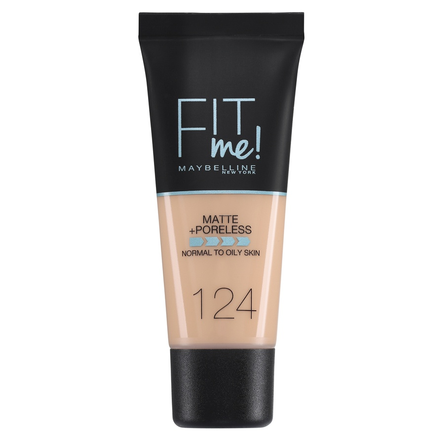 Maybelline Fit Me Makeup Matte + Poreless Foundation 124 30 ml Tube