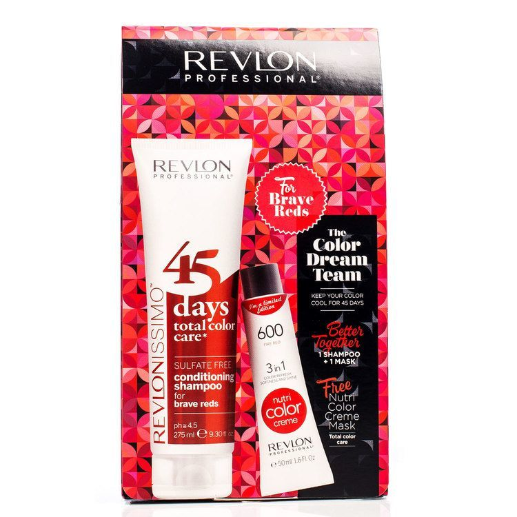 Revlon The Color Dream Team Brave Reds 2 delar