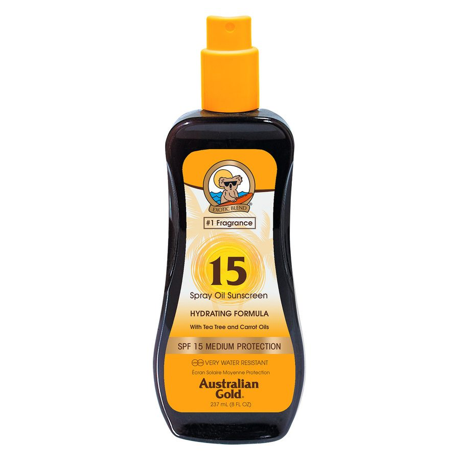 Australian Gold SPF 15 Carrot Intensifier Oil Spray 237 ml