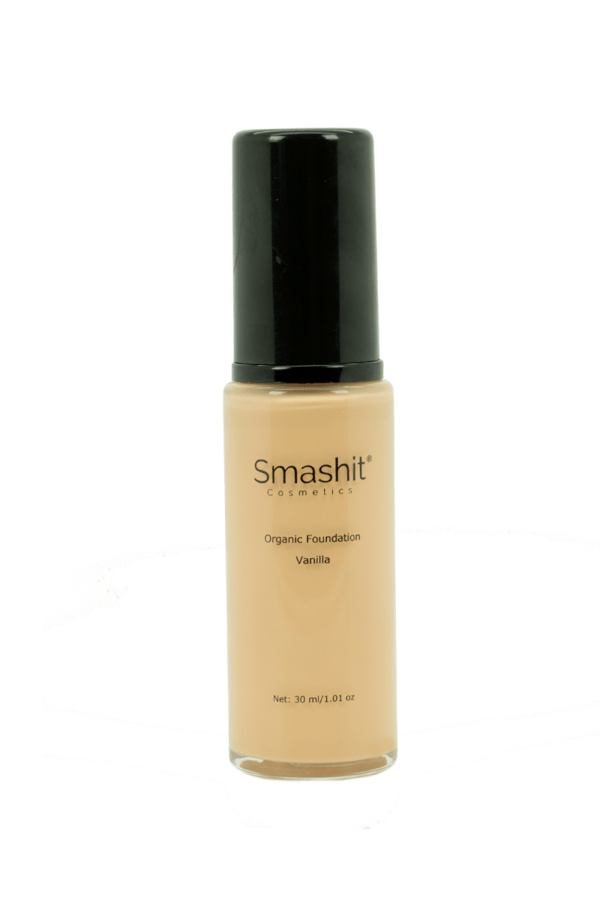 Smashit Cosmetics Organic Foundation Vanilla 30ml