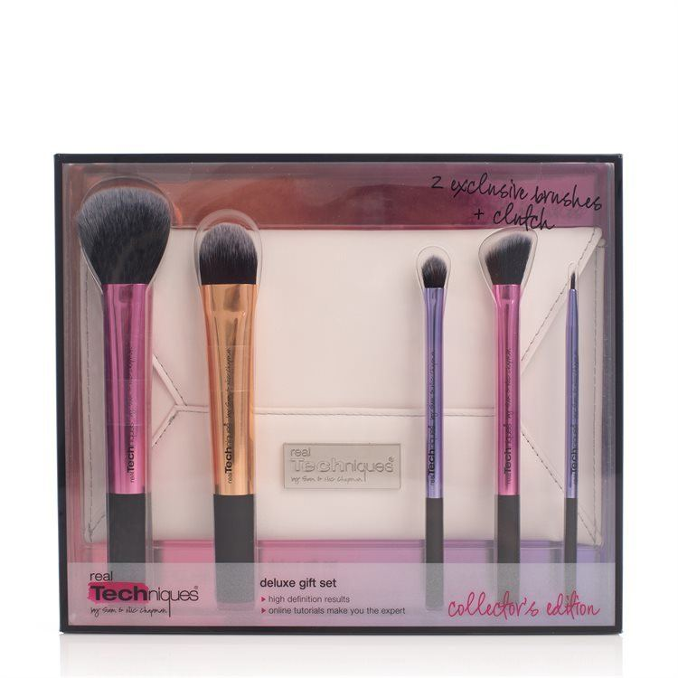 Real Techniques Deluxe Gift Set Collector's Edition 5 delar