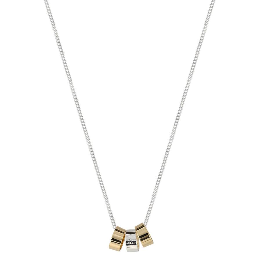 Snö of Sweden Alea Pendant Necklace Gold/Mix