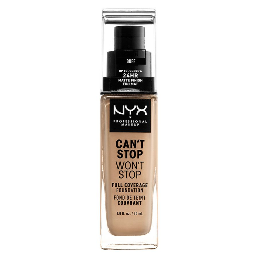 NYX Professional Makeup Can't Stop Won't Stop Full Coverage Foundation Buff 30 ml