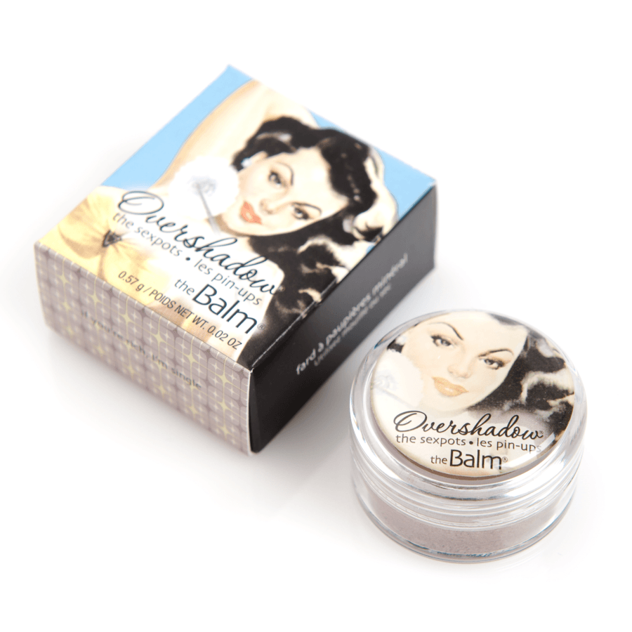 The Balm Overshadow If You're Rich, I'm Single Shimmering Mauvy Pewter