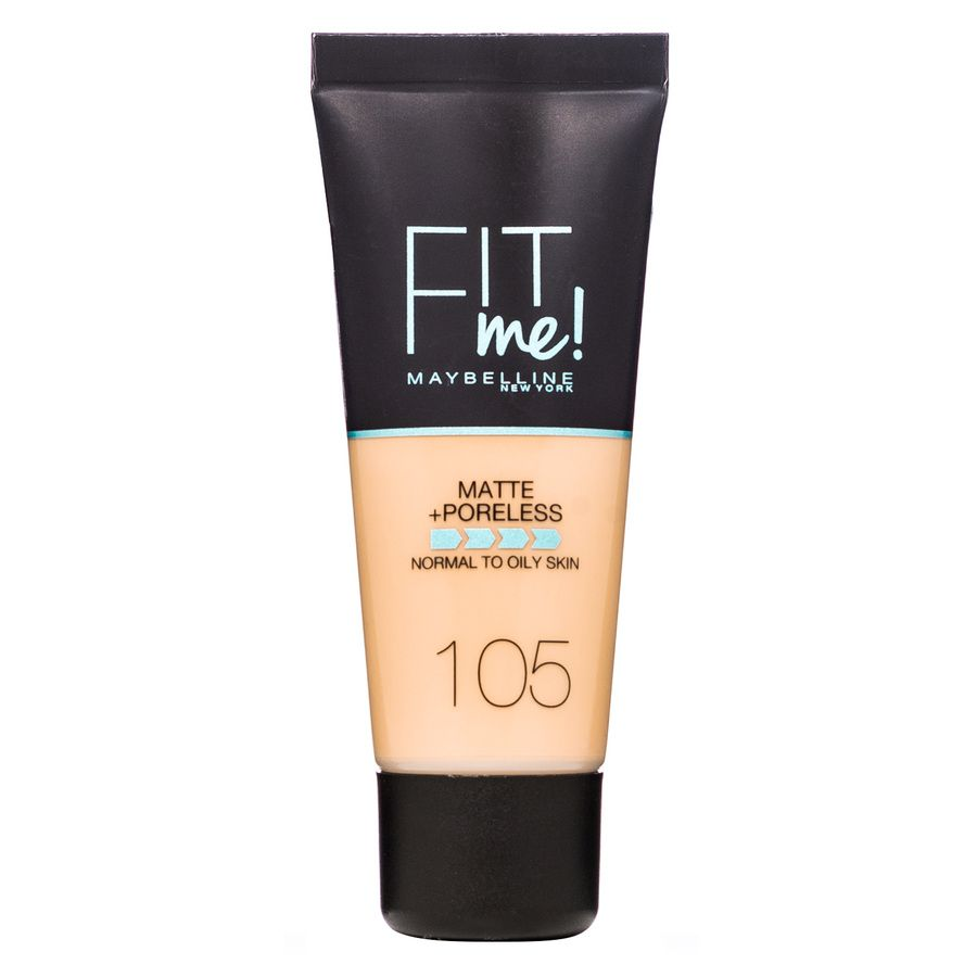 Maybelline Fit Me Makeup Matte + Poreless Foundation 105 30 ml Tub