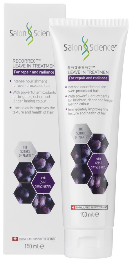 Salon Science Swiss Grape Recorrect Leave In Treatment 150ml