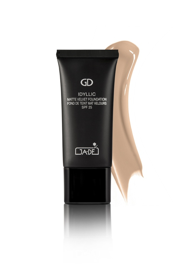 Ga-De Idyllic Matte Velvet Foundation No.107 Deep Beige 30ml