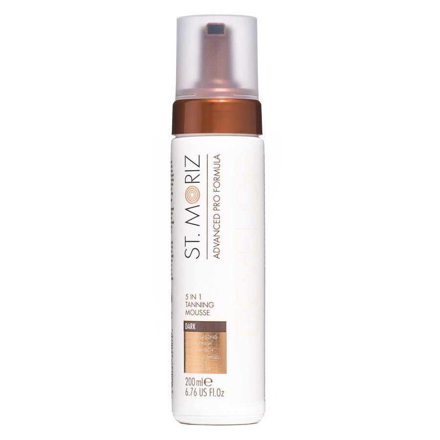 St. Moriz Advanced Pro Formel Develop 5 In 1 Tanning Mousse Dark 200 ml