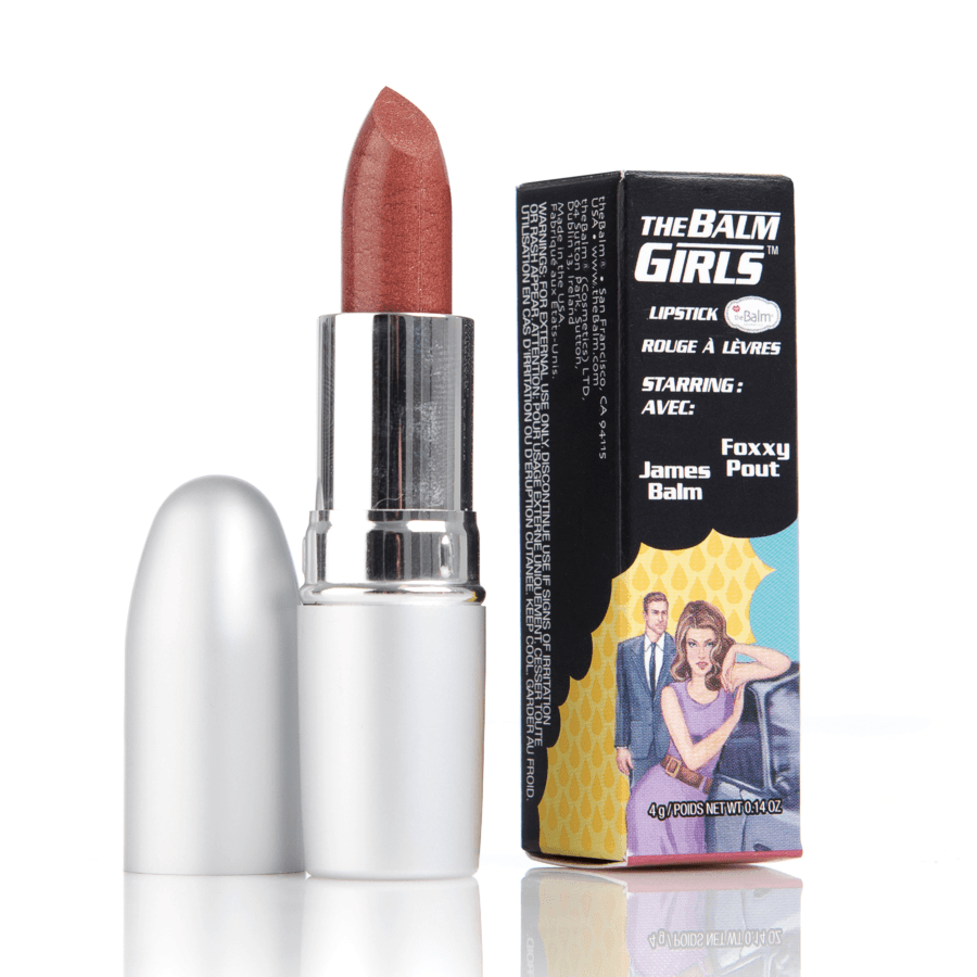 The Balm Girls Lipsticks Foxxy Pout Kobber 4 g
