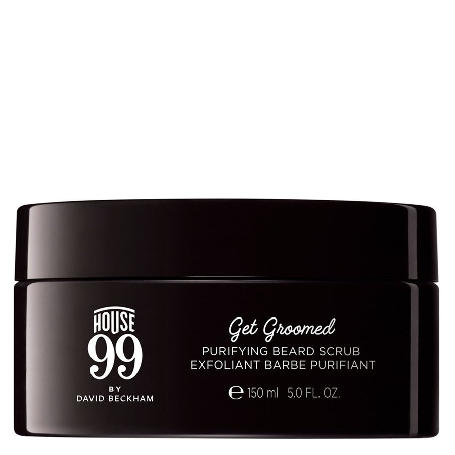 House 99 by David Beckham Get Groomed Purifying Beard Scrub 150 ml