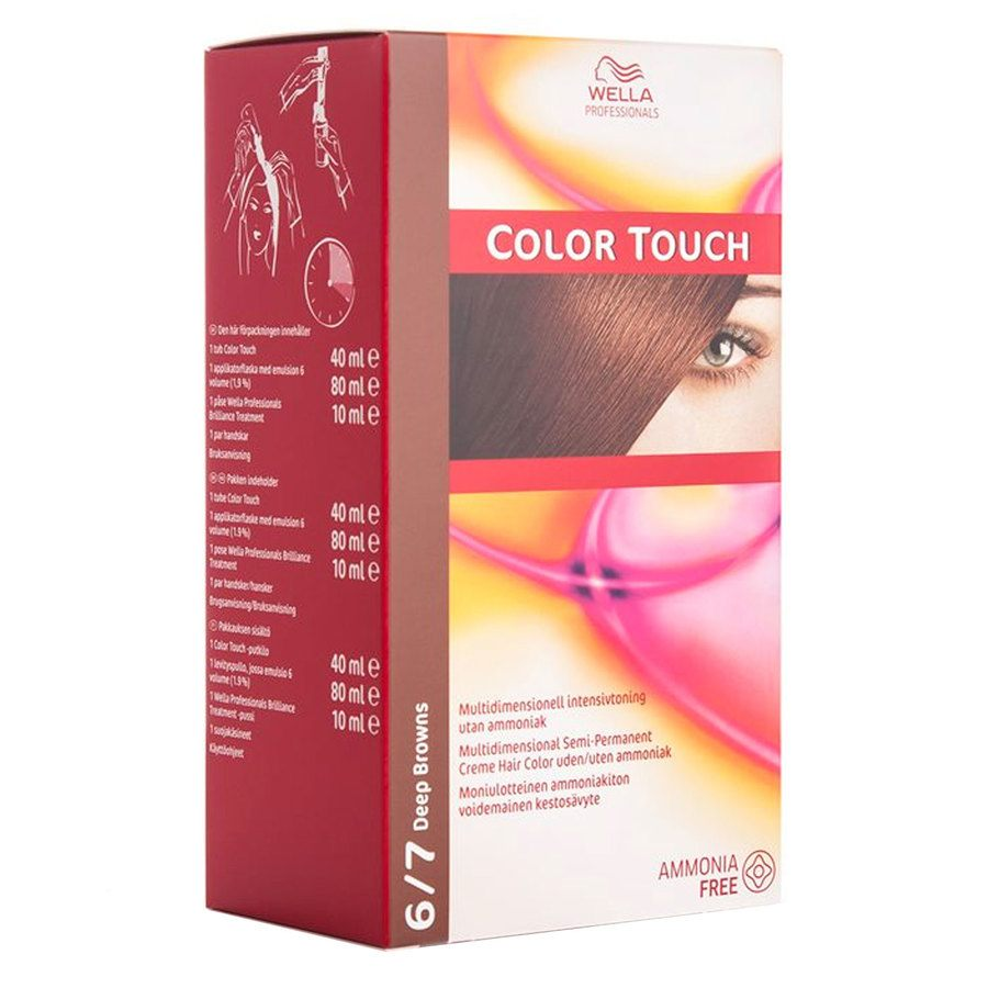 Wella Professionals Color Touch CT OTC 100 ml 6/7 Deep Brown SKAN