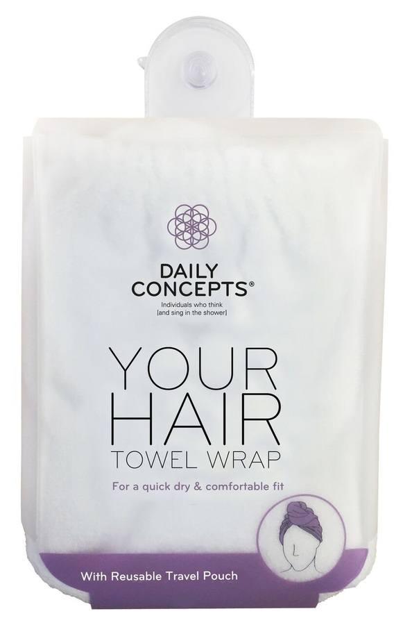 Daily Concepts Your Hair Towel Wrap DC21