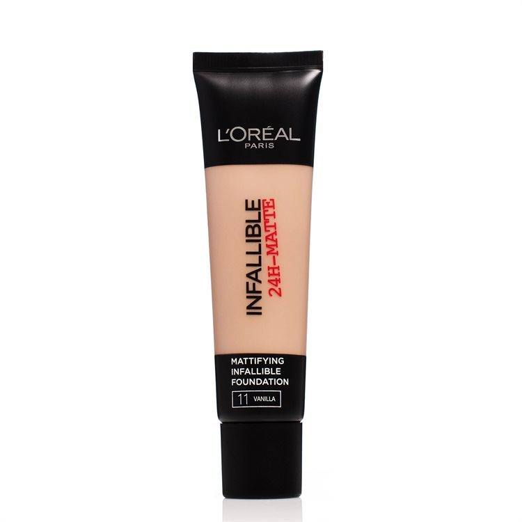 L'Oréal Paris Infallible 24 h Matte Foundation #11 Vanilla 30 ml