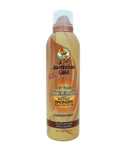 Australian Gold Accelerator Spray With Bronzer 177 ml