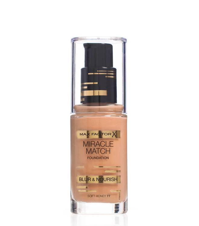 Max Factor Miracle Match Foundation Honey 77