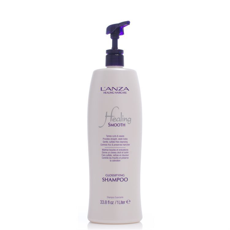 Lanza Healing Smooth Glossifying Schampo 1000ml
