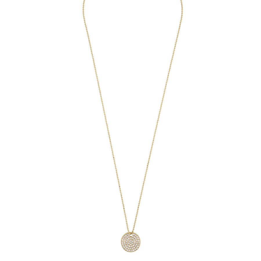 Snö of Sweden Corinne Pendant Necklace 42 cm Gold/Clear