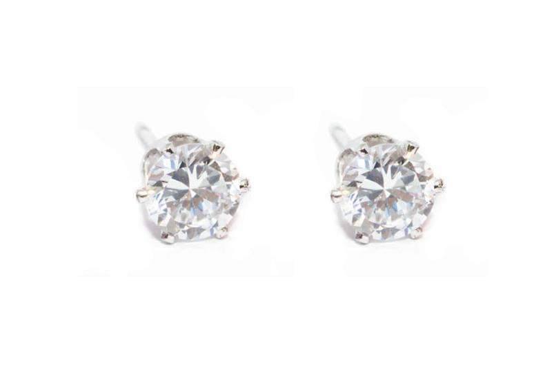 Snö Of Sweden Lady Small Earring, Clear (6 mm)