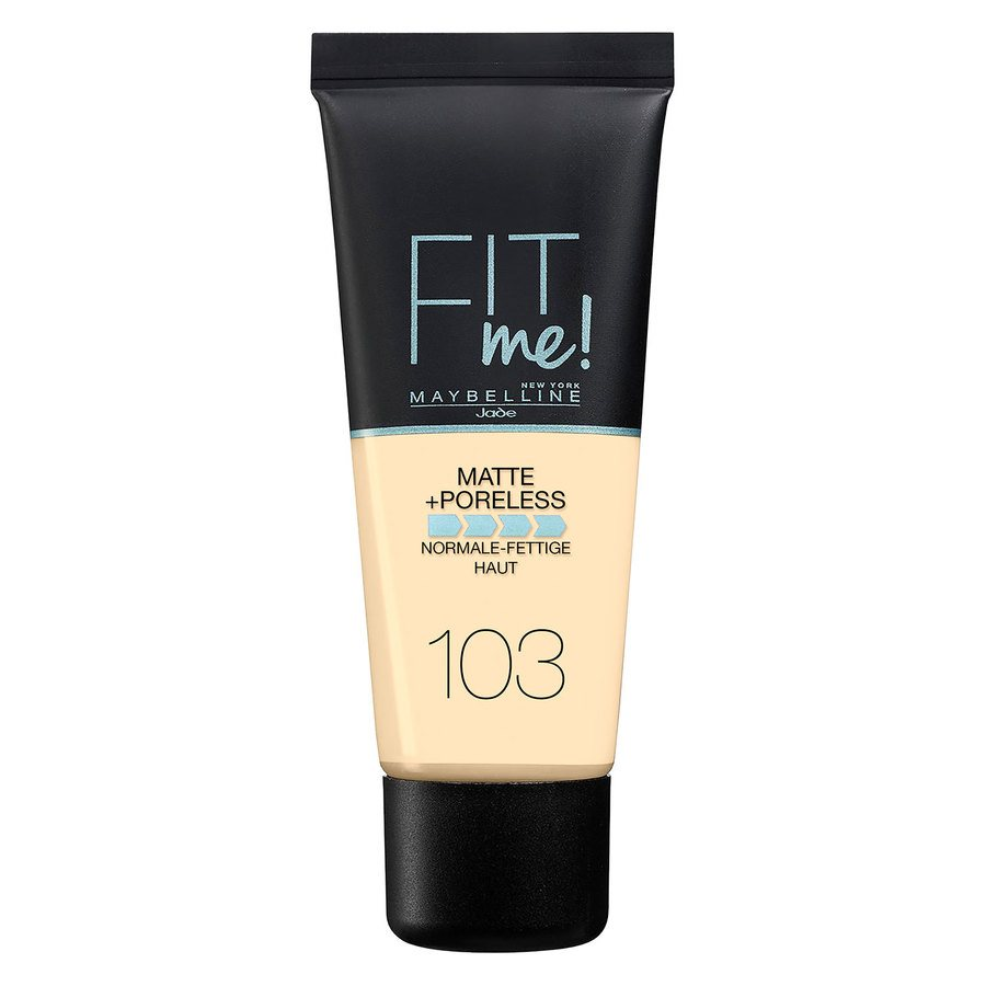 Maybelline Fit Me Matte + Poreless Foundation Pure Ivory #103 30 ml