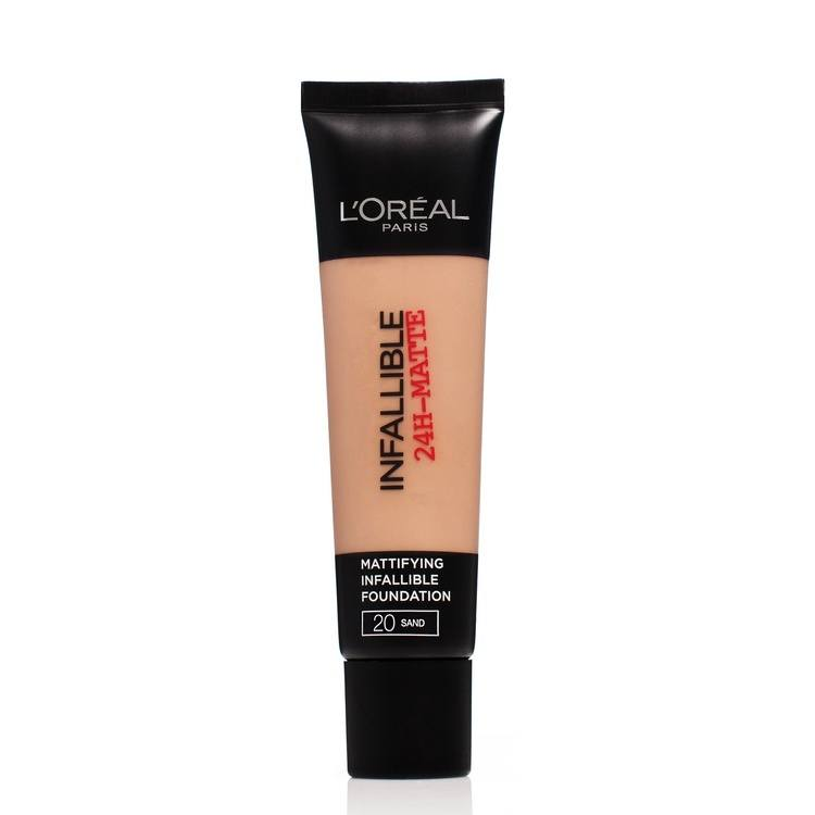 L'Oréal Paris Infallible 24 h Matte Foundation #20 Sand 20 ml