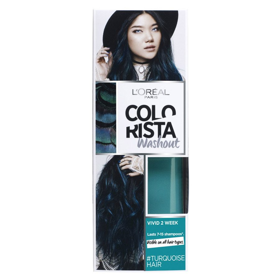 L'Oréal Paris Colorista 2 Weeks Washout 10 Turquoise 80 ml