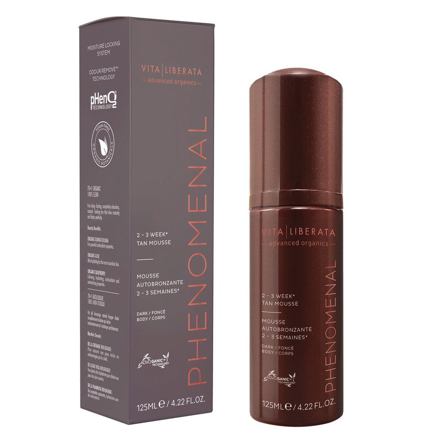 Vita Liberata pHenomenal 2–3 Week Tan Mousse Dark 125 ml
