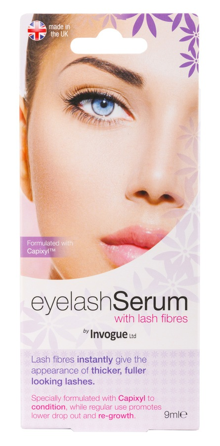 Invogue Eyelash Serum with Lash Fibres 9 ml